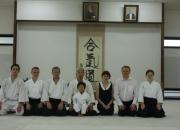 Lietuvos ambasadoriaus Japonijoje vizitas Hombu Dojo
